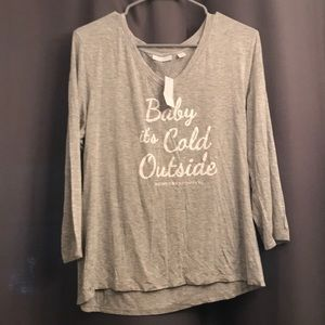 NWT NY&C gray t shirt